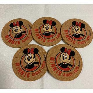 ディズニー(Disney)のミニー ❤︎ コースター ❤︎ 5枚セット(テーブル用品)