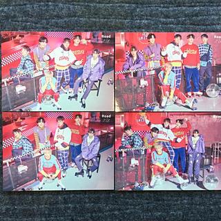 GOT7 トレカ6人バージョン(全4種類)(K-POP/アジア)
