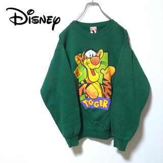 "Disney - 90s USA製 Disney ""Tigger"" スウェット"