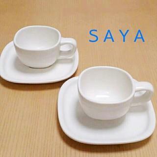 サヤ(SAYA)の新品 SAYA♡カップ2客セット(グラス/カップ)
