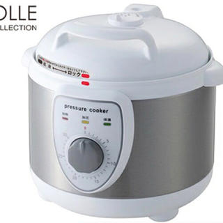 圧力式電気鍋(調理機器)