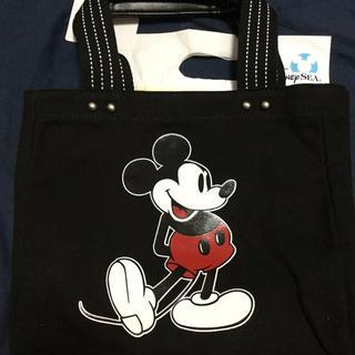 ディズニー(Disney)の大人気☆ミッキー 黒Mトートバック(トートバッグ)