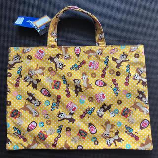 ディズニー(Disney)の新品未使用タグ付♪チップ&デールの手提げバッグ(トートバッグ)