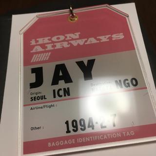アイコン(iKON)の◇iKON◇ アクリルキーホルダー ジナン(K-POP/アジア)