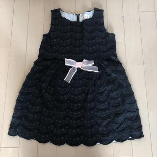イセタン(伊勢丹)のISETAN Style 黒のワンピース(ドレス/フォーマル)