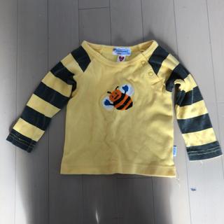スーパーブーホームズ(SUPER BOO HOMES)のboo homes 可愛いハチの刺繍のカットソー(シャツ/カットソー)