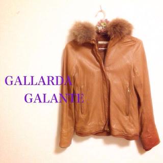 ガリャルダガランテ(GALLARDA GALANTE)の超美品♡! レザー ジャケット ♡(ライダースジャケット)