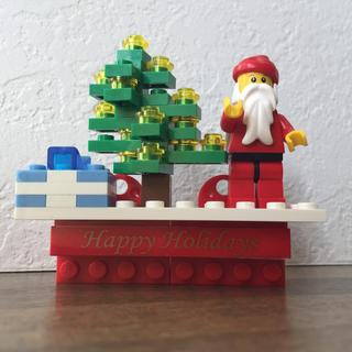 レゴ(Lego)のレゴLEGO クリスマスツリー サンタクロース マグネット(その他)