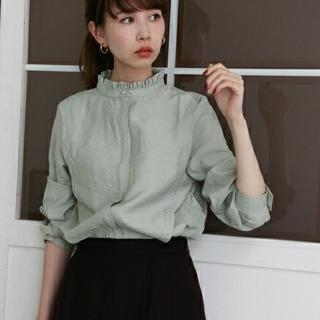 KBF - 新品タグつき《KBF》スタンドカラードレスシャツ//完売☆ミント