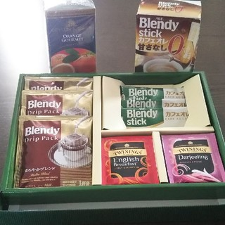 エイージーエフ(AGF)の紅茶,コーヒー,カフェオレまとめ売り(コーヒー)