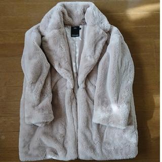 アズールバイマウジー(AZUL by moussy)のAZULのファーコート(毛皮/ファーコート)