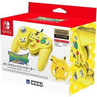 ニンテンドースイッチ(Nintendo Switch)のホリ クラシックコントローラー Nintendo Switch ピカチュウ(その他)