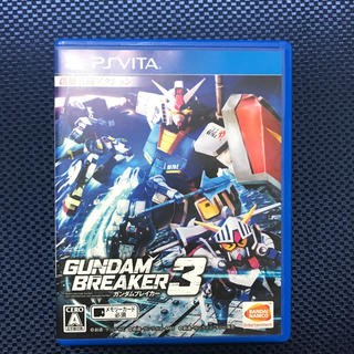 バンダイ(BANDAI)の【もずぎん様用】ガンダムブレイカー3  PS VITA(携帯用ゲームソフト)