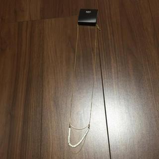 アズールバイマウジー(AZUL by moussy)の新品!アズール*ゴールドネックレス(ネックレス)