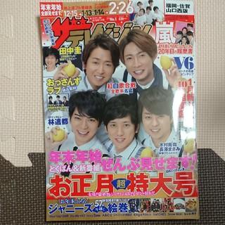 ジャニーズ(Johnny's)の月刊ザテレビジョン 2019年1/4号 お正月 特大号(アイドルグッズ)