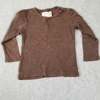 エイチアンドエム(H&M)の無地 長袖Tシャツ(Tシャツ/カットソー)