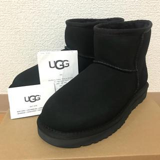 アグ(UGG)のみくちゃん様 専用 アグ  クラシックミニ2 ブラック US7 24cm (ブーツ)