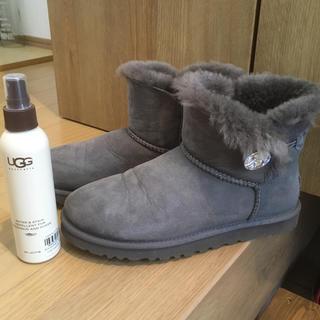 アグ(UGG)の美品❤️オマケ付❤️UGGムートンブーツ サイズ8(ブーツ)