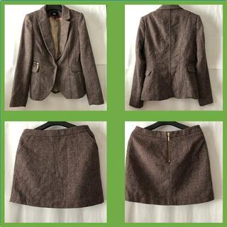 エイチアンドエム(H&M)のH&M/ツイード・セットアップスーツ(スーツ)
