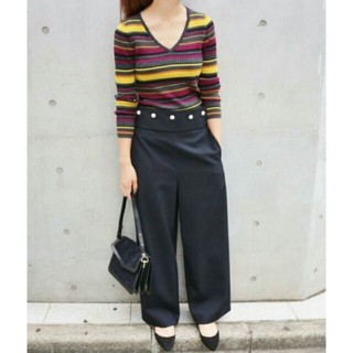 IENA - イエナ wool ツイル マリンパンツ 38
