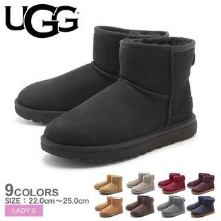 アグ(UGG)の新品未使用 アグ クラシックミニⅡ ブーツ US5 US6 US7 US8 在庫(ブーツ)