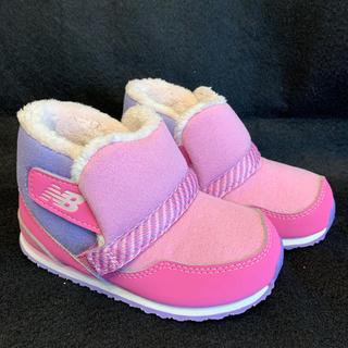 ニューバランス(New Balance)の★ニューバランス new balance 靴 ブーツ 15.5cm ピンク 新品(ブーツ)
