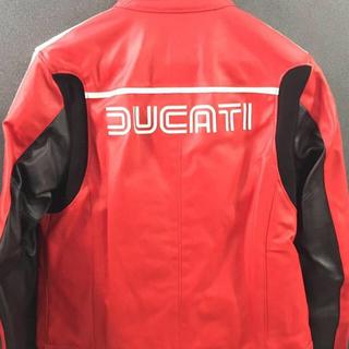 ドゥカティ(Ducati)のDucati レザージャケット(Rosso)(ライダースジャケット)