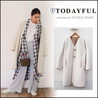 TODAYFUL - todayful アウター コクーンボアコート