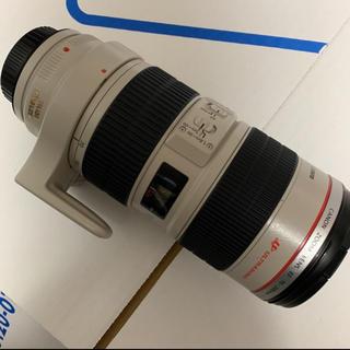 キヤノン(Canon)のcanon EF 70-200 F2.8 L IS USM 望遠レンズ 白レン(レンズ(ズーム))