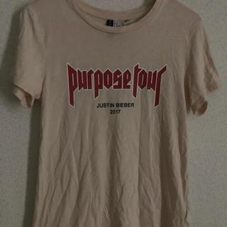 エイチアンドエム(H&M)のjustin bieber Tシャツ(Tシャツ(半袖/袖なし))