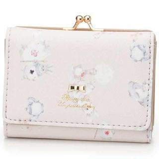 KATHARINE ROSS☆新品♪リボン付き*アリスうさぎ柄がま口タイプ財布
