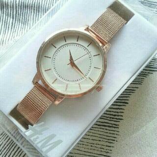 エイチアンドエム(H&M)の新品未開封 H&M 腕時計 ピンクゴールド(腕時計)
