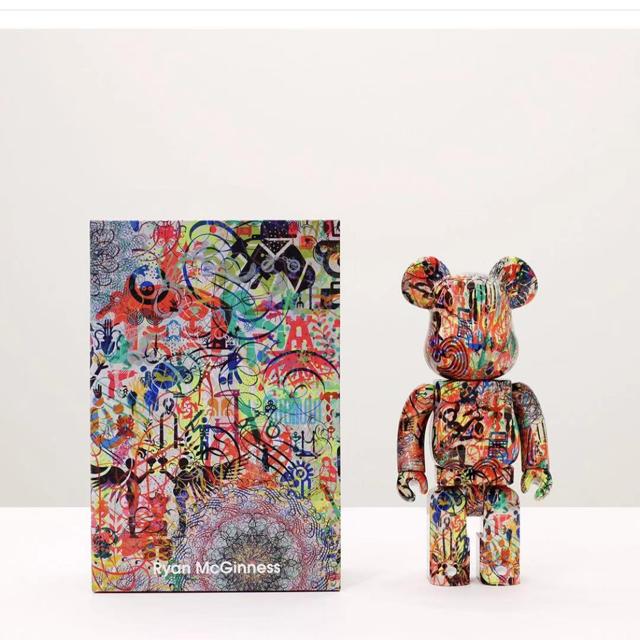 MEDICOM TOY(メディコムトイ)のBE@RBRICK RyanMcGinness 100% 400% ベアブリック エンタメ/ホビーのおもちゃ/ぬいぐるみ(キャラクターグッズ)の商品写真
