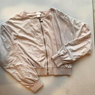 エイチアンドエム(H&M)のH&M 薄手ジャンパー(ノーカラージャケット)