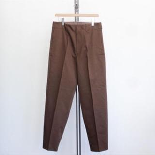 オーラリー Washed Finx Chino Tapered Pants 3