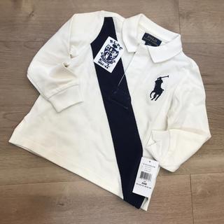 ポロラルフローレン(POLO RALPH LAUREN)の24Mラルフローレン 長袖ポロシャツ(Tシャツ/カットソー)