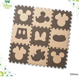 ディズニー(Disney)のミッキー ジョイントマット 25枚(フロアマット)