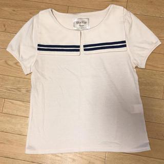 シマムラ(しまむら)のセーラーカラーTシャツ(Tシャツ(半袖/袖なし))
