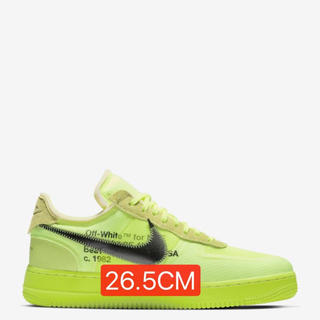 NIKE - NIKE AIR FORCE 1 LOW × OFF WHITE