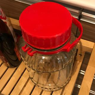 トウヨウササキガラス(東洋佐々木ガラス)の果実酒 瓶 4リットル(容器)