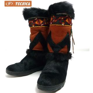 イタリア製テクニカTECNICAスノーブーツ22-22.5cm相当(ブーツ)