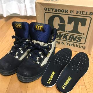 ジーティーホーキンス(G.T. HAWKINS)の【中古】GTホーキンス トレッキングシューズ 登山靴 24cm(登山用品)
