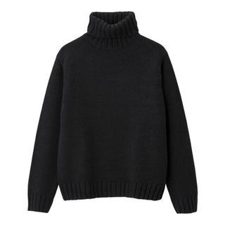 GU - 新品タグ付き♡ローゲージタートルネックセーター