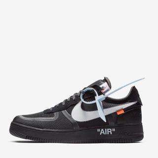 NIKE - The ten Off-White Nike Air Force 1 Black
