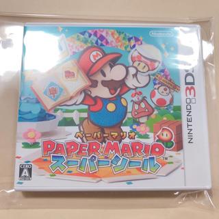 ニンテンドウ(任天堂)のペーパーマリオ スーパーシール(家庭用ゲームソフト)