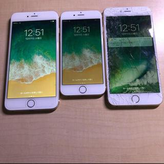 アップル(Apple)のiPhone6 iPhone6Plus 3台セット  ジャンク(スマートフォン本体)