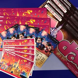 ディズニー(Disney)のディズニーランド 年越し★カウントダウン チケット(遊園地/テーマパーク)