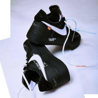 OFF-WHITE - the10 air force 1 black