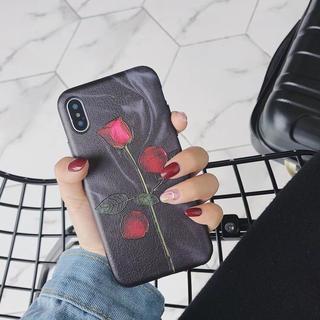 かな様 iPhone x ブラック (iPhoneケース)