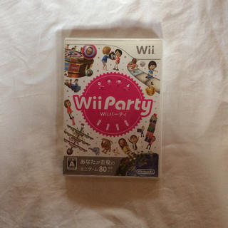 ニンテンドウ(任天堂)のwii party(家庭用ゲームソフト)